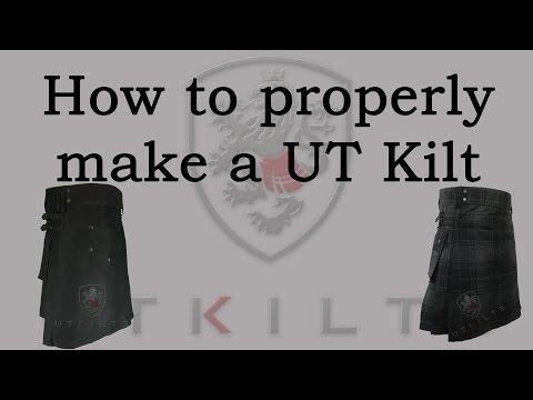 How To Properly Make a Utility Kilt
