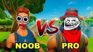Fortnite: NOOB vs PRO! - Jak zostać MISTRZEM?