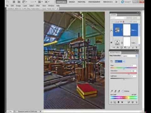Zdjęcia HDR - Photoshop [kurs wideo]