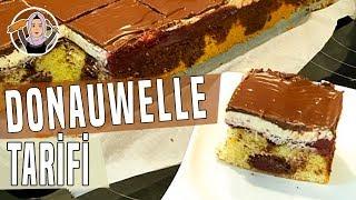 Pudingli kirazli pasta tarifi-Alman pastasi Donauwellen-Hatice Mazi