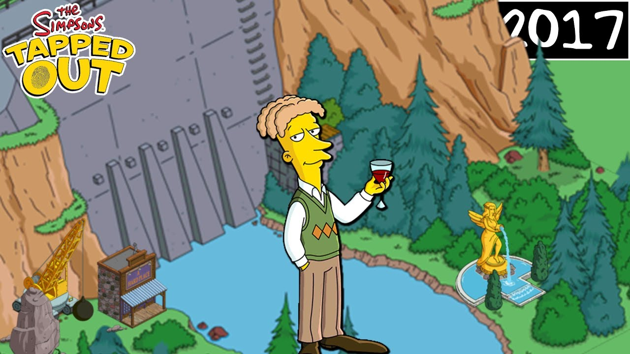 The Simpsons: Tapped Out - Road To Riches | CECIL RETURNS WITH NEW ...