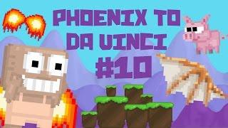 Growtopia - Phoenix To Da Vinci #10 | PIGLET!!