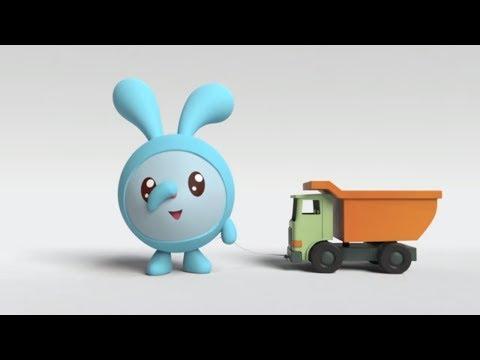 МАЛЫШАРИКИ - Что такое позади - развивающие и обучающие мультфильмы - песенки для детей Kids Songs