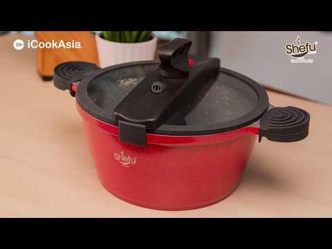 UNBOXING: SHEFU Low Pressure Cooker | Periuk Tekanan Rendah | iCookAsia Shop