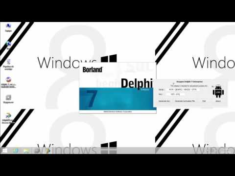 Instalacion Delphi 7 Enterprise Windows 8