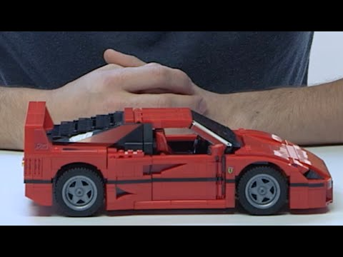build your very own ferrari f40 lego creator youtube. Black Bedroom Furniture Sets. Home Design Ideas