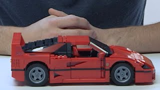 Build your very own Ferrari F40! - LEGO Creator