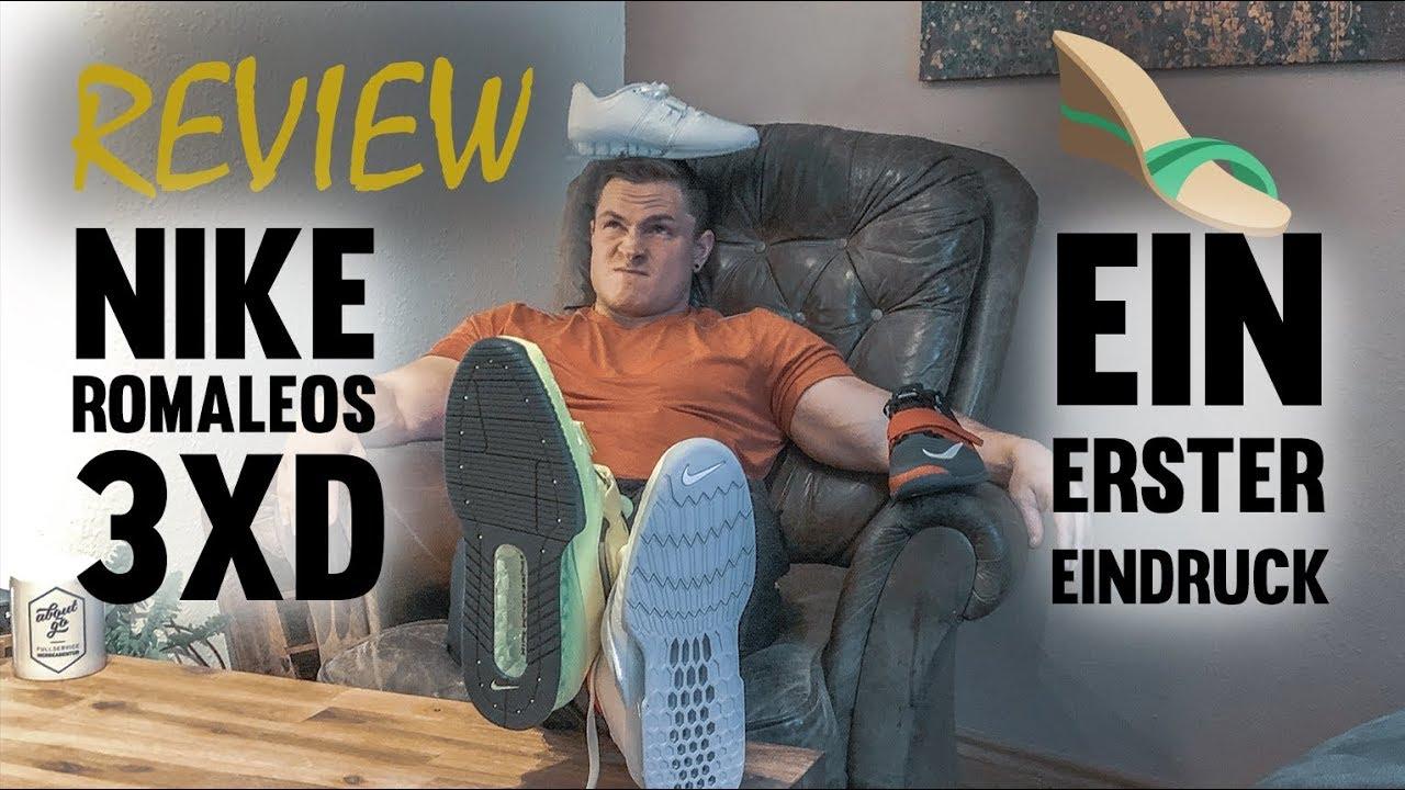 NIKE ROMALEOS 3XD 600€ für Schuhe ausgegeben YouTube