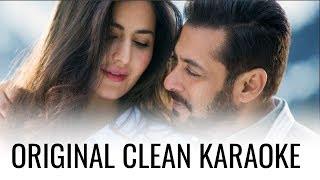 Dil Diyan Gallan original clean karaoke track | Tiger Zinda Hai piano instrumental lyrical video