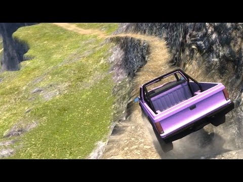 BeamNG.drive - Going Down Leap of Death's Trail