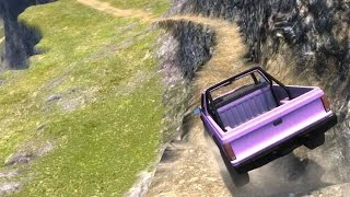 BeamNG.drive - Going Down Leap of Death