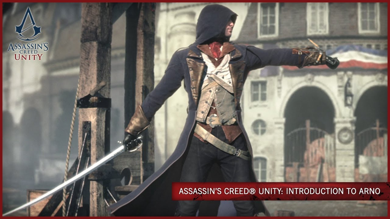 Assassin S Creed Unity Introduction To Arno Scan Youtube
