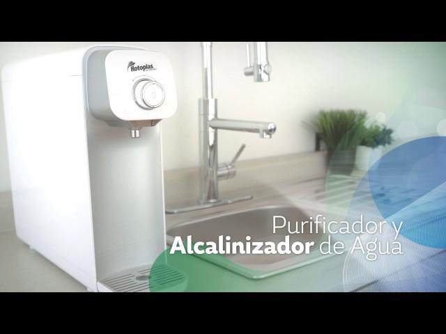 Purificador y Alcalinizador de Agua