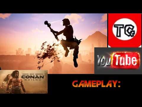 Live: Conan Exiles: Construindo minha nova casa