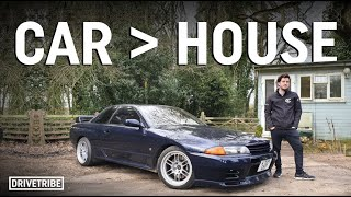 Meet The Youtuber Who Lives In A Shed But Owns An R32 Skyline Gt-r