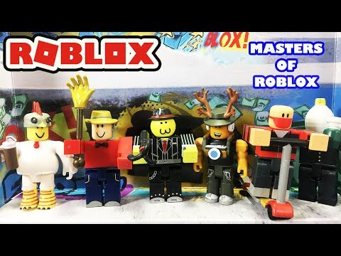Roblox Red Lazer Parkour Runner and Giant Hunter FIGURES w// CODE NEW