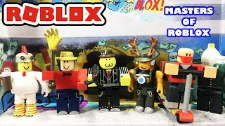 Masters Of Roblox Unboxing - Action Series 3 Toy Pack - Roblox Toys
