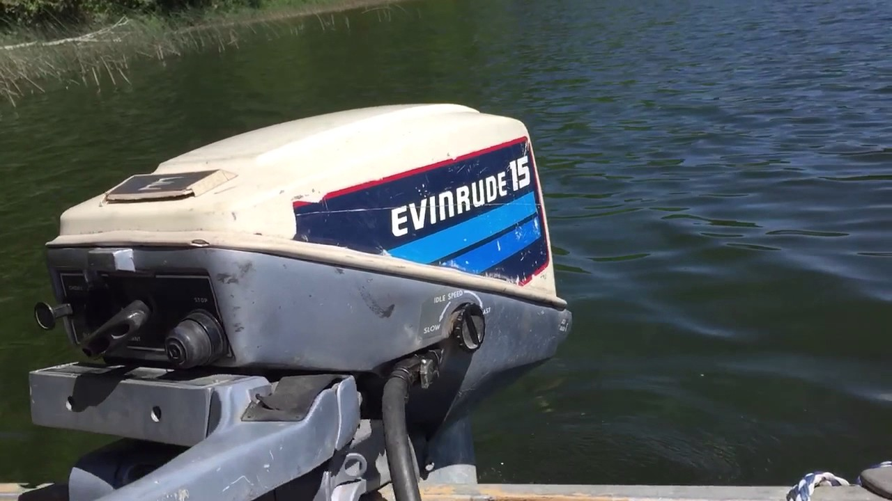 Evinrude 15 Hp >> 1982 Evinrude 15hp Outboard Motor