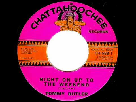 Tommy Butler - RIGHT ON UP TO THE WEEKEND (Gold Star Studio) (1965)