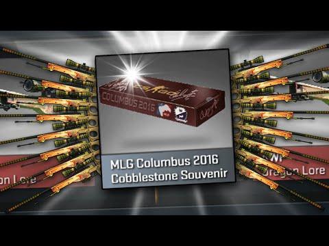 MLG COLUMBUS 2016 COBBLESTONE SOUVENIR CASES! - CS GO Case Opening Funny Moments