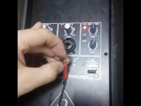 ремонт beringer колонки