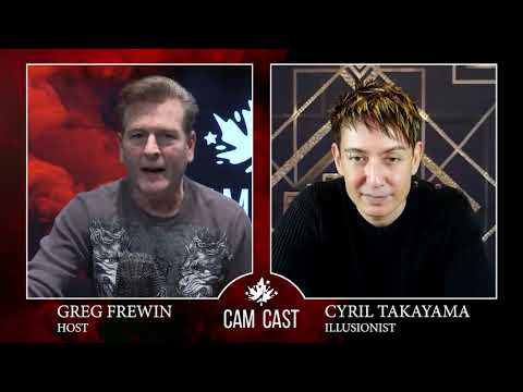 (WATCH) Cyril Takayama CAMCAST Interview