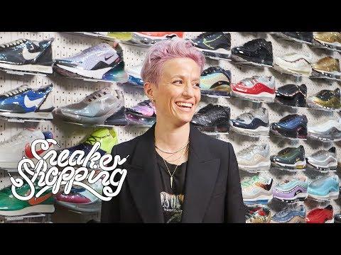Megan Rapinoe spends over $4k on Sneaker Shopping