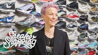 Megan Rapinoe Goes Sneaker Shopping With...
