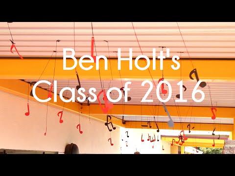 """Ben Holt Class of 2016 """"Homecoming"""""""