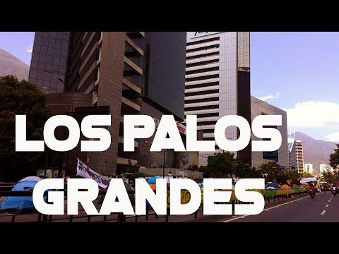 LOS PALOS🚔 GRANDES BARRIO DE CLASE👉 MEDIA EN CHACAO 1 SITIO PARA VISITAR EN CARACAS VENEZUELA 2018