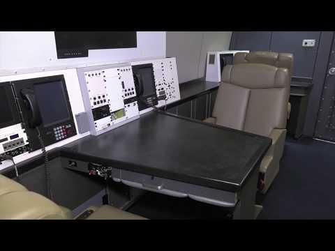 "Boeing E-4B ""Doomsday"" Cabin Walk Through"