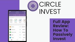 How to Passively Invest in Crypto w/ NO FEES using Circle Invest  (My Actual Account)