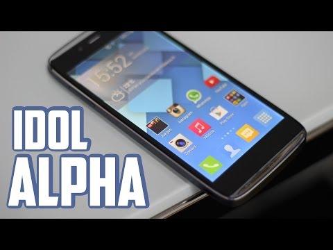 Alcatel One Touch Idol Alpha, Review en español
