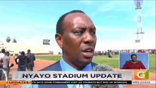 Nyayo stadium update