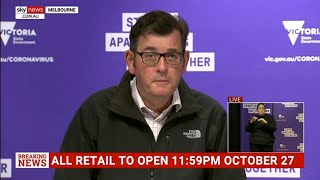 Melbourne businesses allowed to open from Wednesday