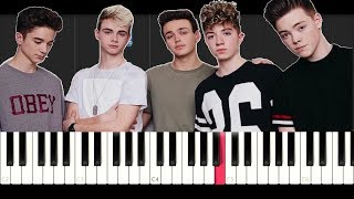 Why Don't We - Nobody Gotta Know (EASY Piano Tutorial)
