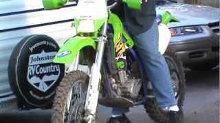 1998 klx300r vs kx 80 dirt bike