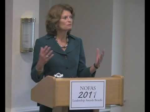 Sen. Lisa Murkowski at NOFAS Benefit 2011