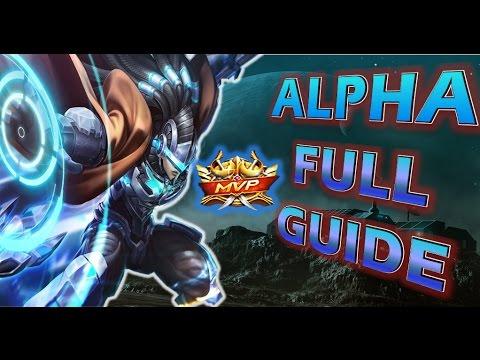 Mobile Legends : ALPHA CRAZY BUILD ! 💪😱 FULL GUIDE