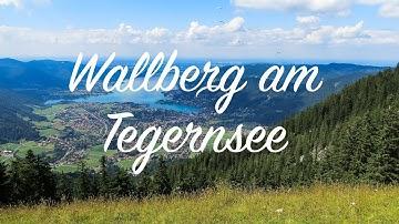 Wallberg am Tegernsee - Der Weg nach oben & Drohnenflug | 2019