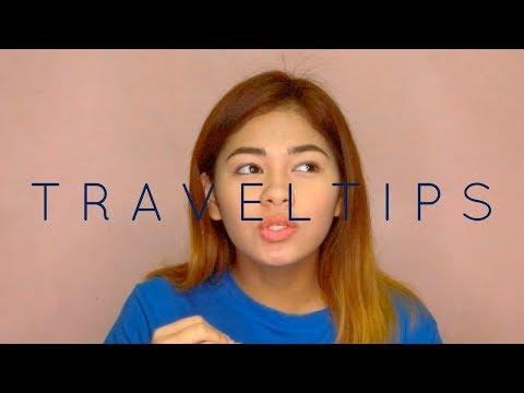 Airplane/Travel TIPS! (Philippines) | KateLamsen