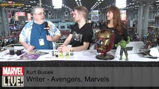 Watch for Everything Kurt Busiek on Marvel LIVE! at New York Comic Con 2014