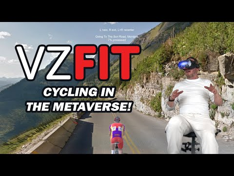 VZfit Review - Oculus Quest Cycling App (VR Cycling)
