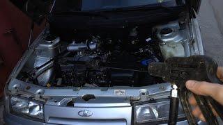 Мойка двигателя ваз 2110