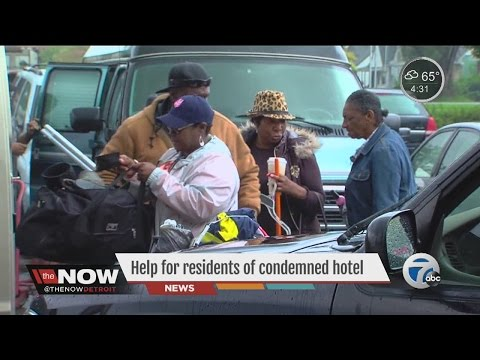 Help for residents of condemned Royal Oak hotel