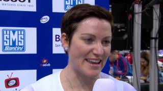 Riders Talk: Anna Meares about the onboard cameras during the 2015 UCI Track World Championships
