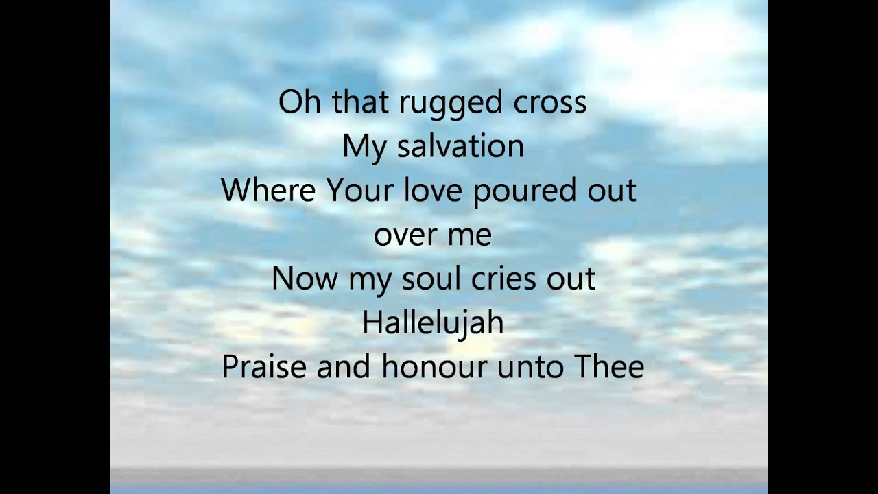 Man Of Sorrows Hillsong Lyrics Video
