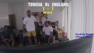 ENGLAND VS TUNISIA - FUNNY FANS LIVE REACTIONS