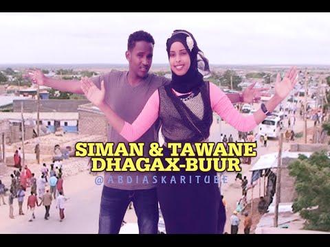 SACDIYA SIMAN & MAXAMED TAWANE - HEES CUSUB 'DHAGAX-BUUR' BEST TALANTAALI | 2017 HD + LYRICS