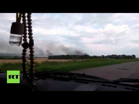 Ukraine: Malaysian Airliner crashes near Russia-Ukrainian border